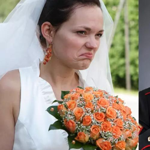 Angry Bride Kicks Veteran Out Of Wedding For Wearing Uniform