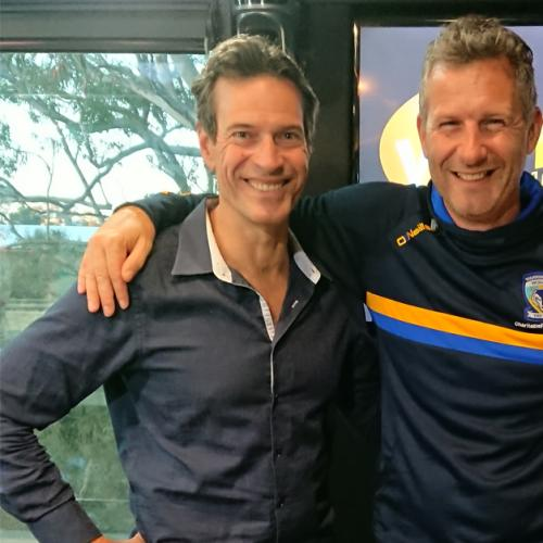 We Chat To Adam Hills About Playing Footy For South Sydney