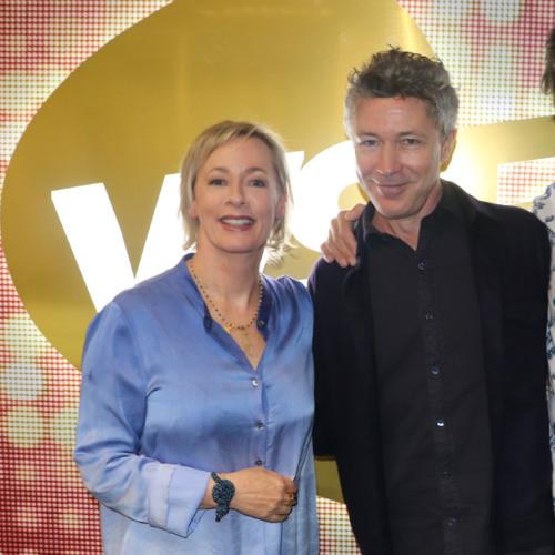 Jonesy & Amanda With GoT's 'Littlefinger' Aidan Gillen