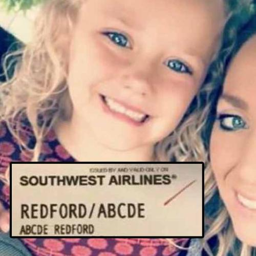 Airline Apologises For Mocking Little Girl's 'Abcde' Name
