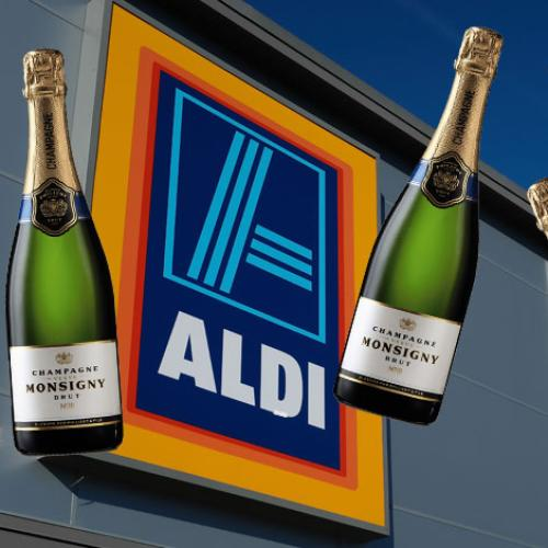 Aldi's Award Winning Champagne Costs How Much?