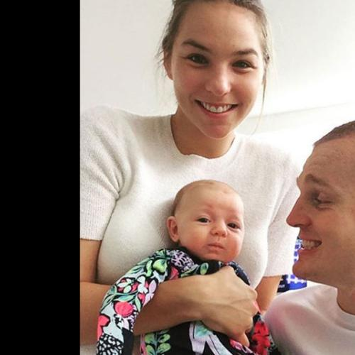 Alex McKinnon 'Bawled' After Birth Of Baby Harriet