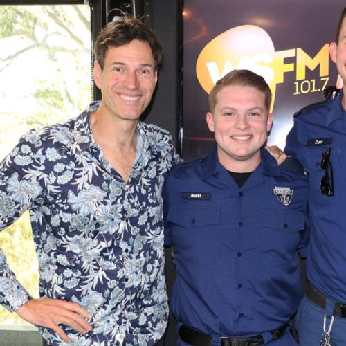 Real Life Heroes Matt & Dan From Ambulance Australia Join Us