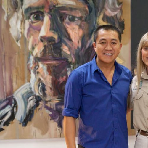 Anh Do Reveals The Art To Painting Famous Faces