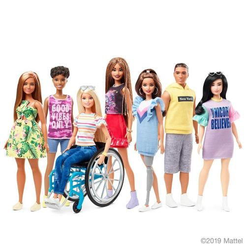 New Barbie Doll In A Wheelchair Celebrates Diversity