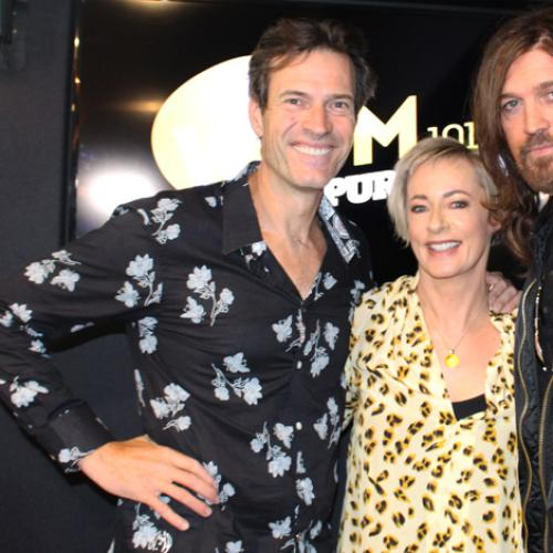 Jonesy & Amanda Chat To Country Superstar Billy Ray Cyrus