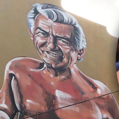 Sydney Pub Unveils Giant Near Nude Mural Of Bob Hawke