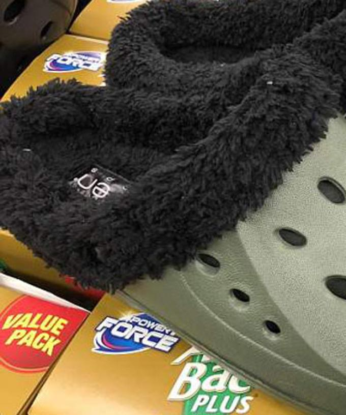 2b15b911ca1 Can't Choose Between Crocs Or Ugg Boots? Aldi Has The Answer