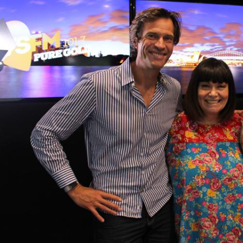 Jonesy & Amanda Catch Up With Comedy Superstar Dawn French