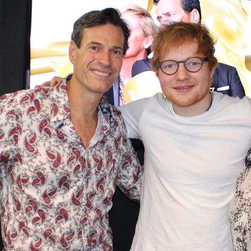 Jonesy & Amanda Catch Up With Ed Sheeran
