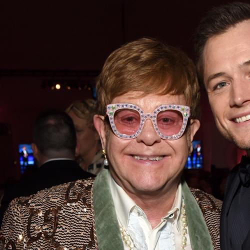 The One Piece Of Advice Elton Gave Taron Egerton