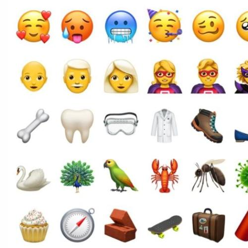 Your First Look At The 70 New Emojis About To Be Released!