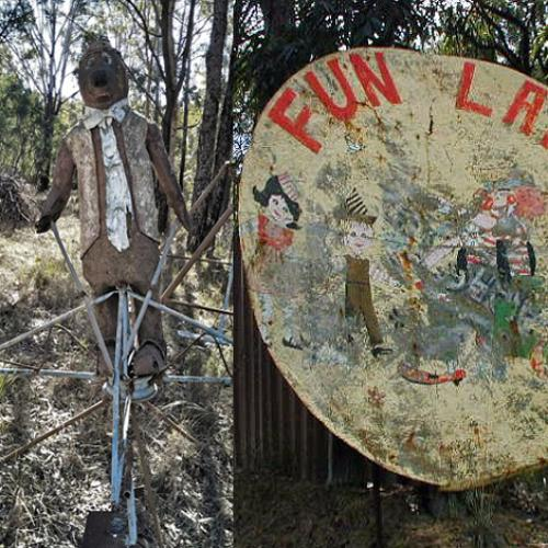 We Look Inside Abandoned Sydney Theme Park 'Funland'