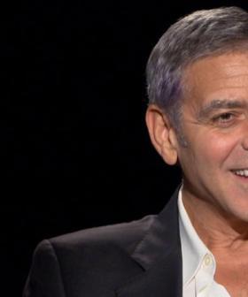 George Clooney Speaks To Katherine Tulich