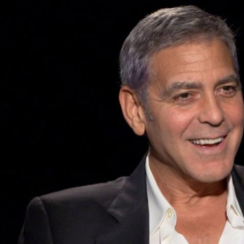 George Clooney Speaks To Katherine Tulich