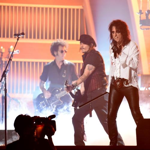 Alice Cooper and Johnny Depp Perform to Sell-Out Crowd