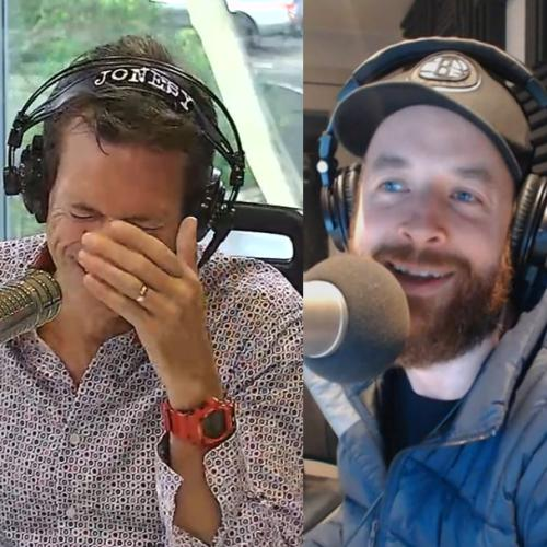 AWKWARD! What Did Jonesy Just Call Hamish Blake???