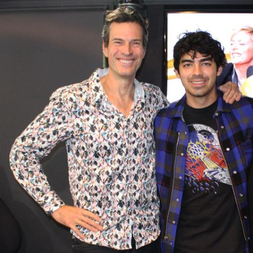 Jonesy & Amanda With The Voice Star Joe Jonas