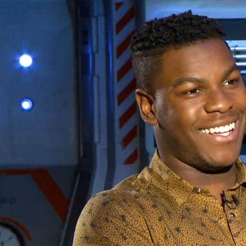 Katherine Tulich With Pacific Rim Uprising Star John Boyega