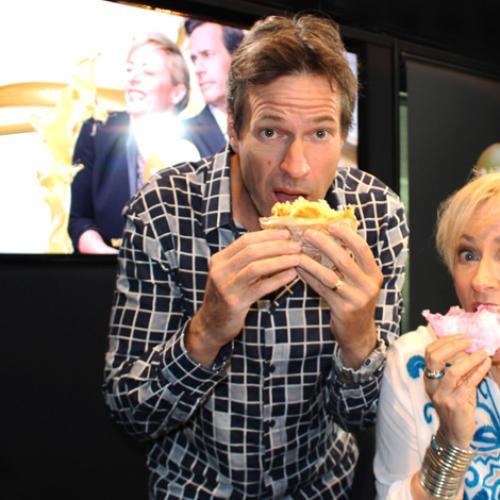 Jonesy & Amanda Road Test New Easter Show Food