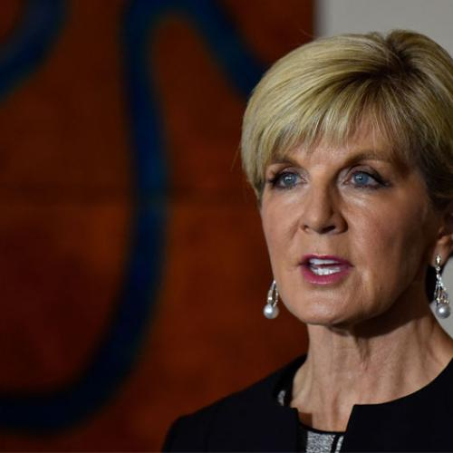 Jonesy & Amanda Chat To Foreign Minister Julie Bishop