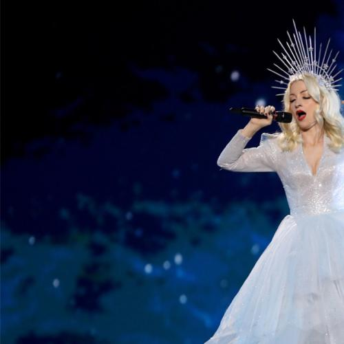 Kate Miller-Heidke Soars Through Eurovision Performance