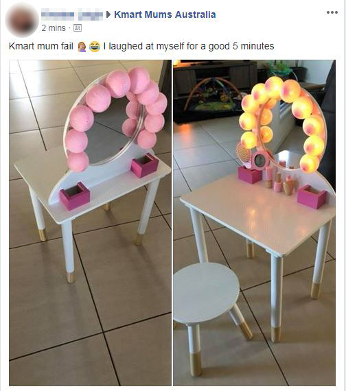 Kids Makeup Table Kmart Cheaper Than Retail Price Buy Clothing Accessories And Lifestyle Products For Women Men