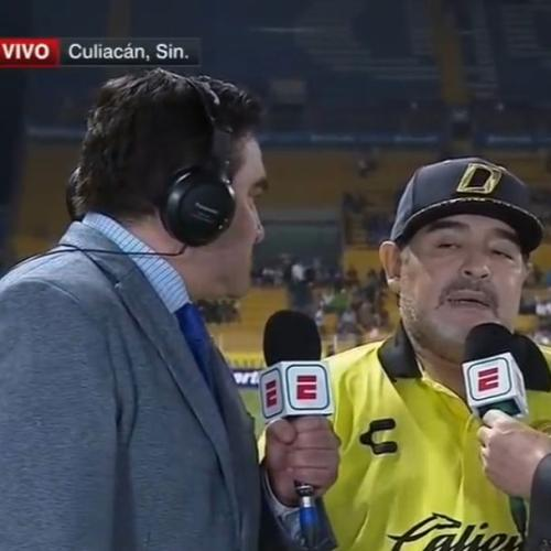 What Was Soccer Star Diego Maradona Saying In This Interview
