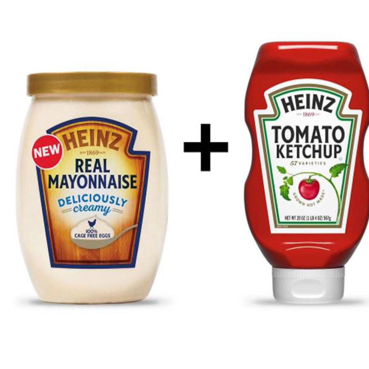 Image result for mayonnaise and tomato sauce