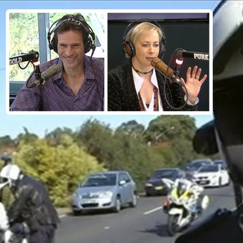 Amanda Reviews Jonesys Voiceover Work on Motorbike Cops