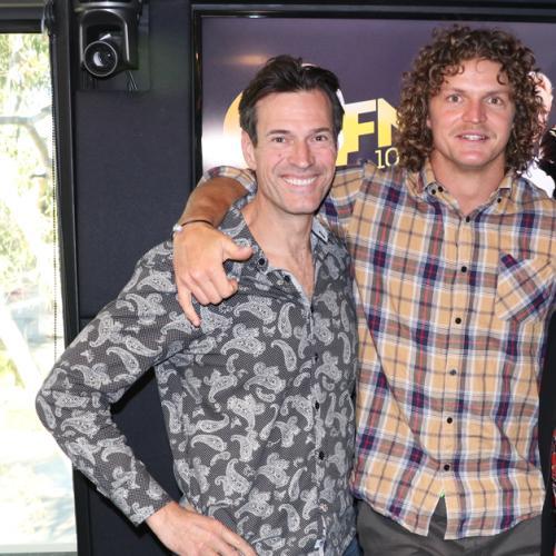 Jonesy & Amanda With Bachelor Nick 'Honey Badger' Cummins