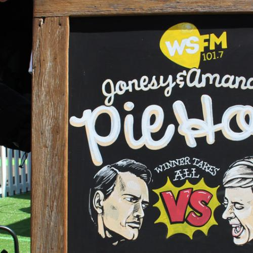 Jonesy & Amanda Reveal New Pie Flavours For The Easter Show