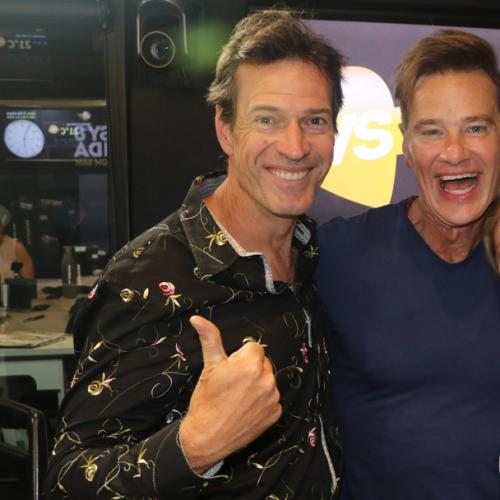 Jonesy & Amanda With I'm A Celebrity Winner Richard Reid