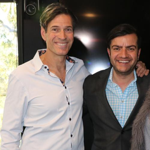 Jonesy & Amanda With Sam Dastyari