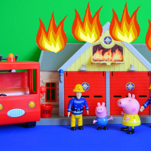 Kids Tv Shows Peppa Pig & Fireman Sam Accused Of Sexism