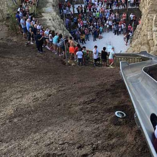 Spain's New Street Slide Shut After 2 Days Because Injuries