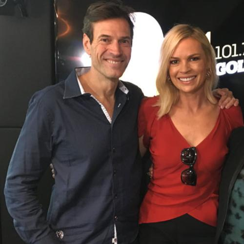 Jonesy & Amanda Chat To The Voice Host Sonia Kruger