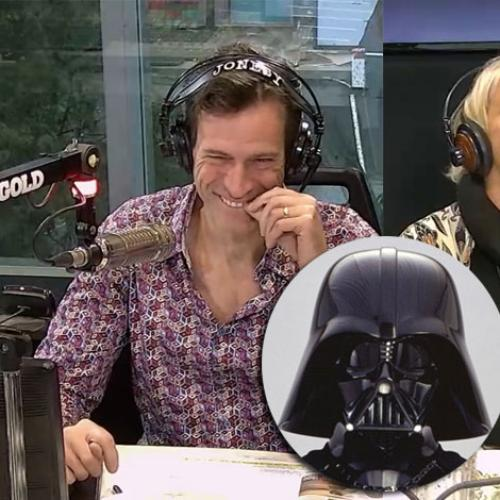 Jonesy Cracks Himself Up With His Big Fact About Darth Vader