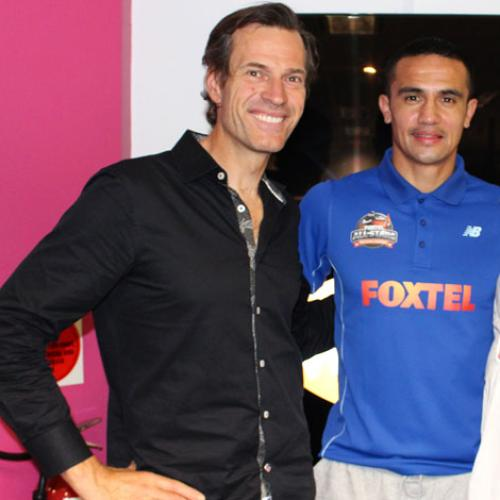 Jonesy & Amanda Chat To Tim Cahill Ahead Of The World Cup