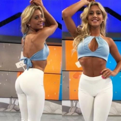 This Sexy Weather Girl Just Insured Her Bum For How Much???