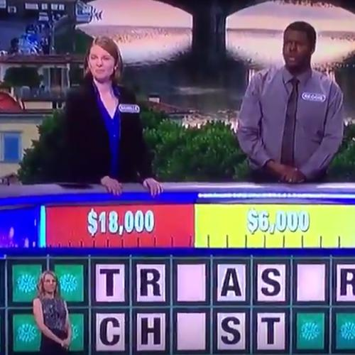 Wheel Of Fortune Contestant Forgets What A Vowel Is & Loses
