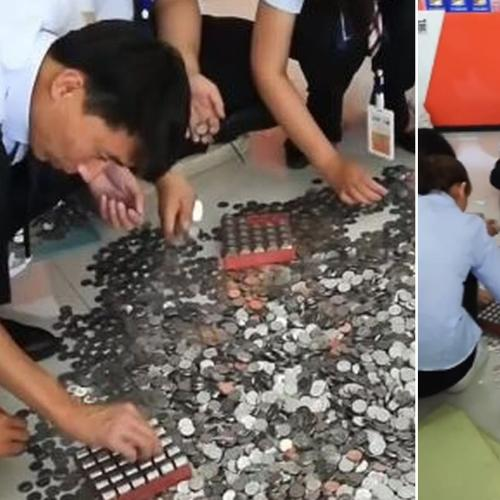 This Woman Paid For New Vw With $30,000 In Coins