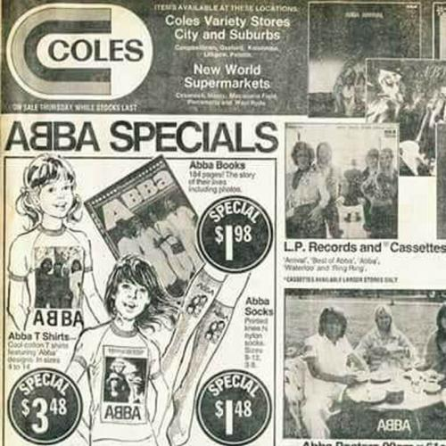 This Coles Catalogue Of ABBA Merch Is So Nostalgic