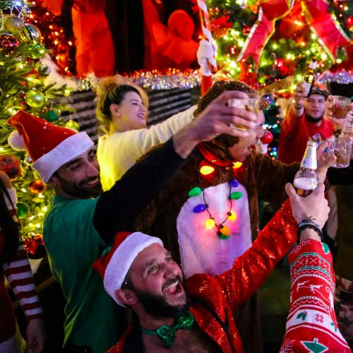 Santa's Coming To Sydney To Spin Decks And Serve Drinks