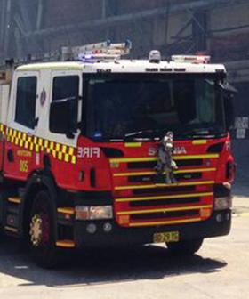 Factory Erupts Into Flames In Sydney's West