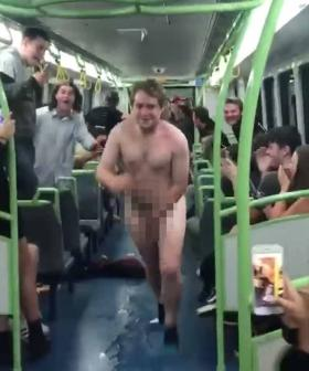 Aussie Train Becomes A NSFW Slip-And-Slide