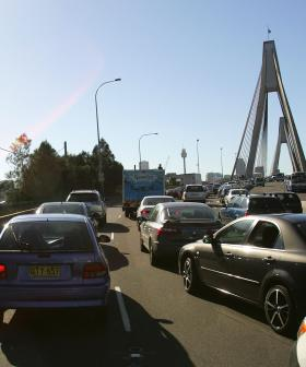 Car And Motorcycle Crash Cause Chaos On Sydney's Western Distributor