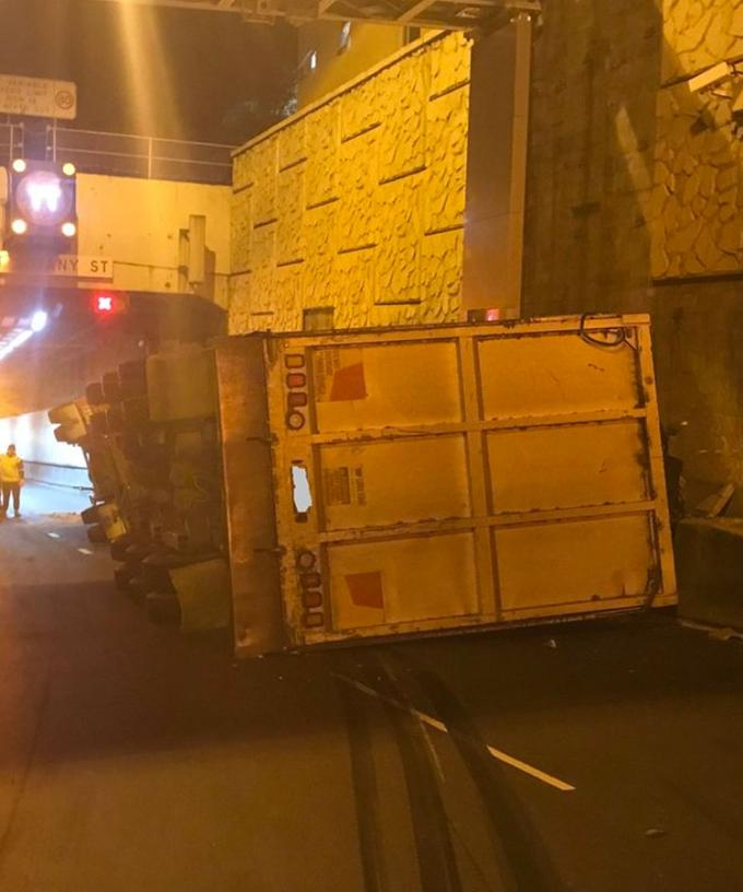 Parts Of Sydney's M5 Closed After Truck Rolls