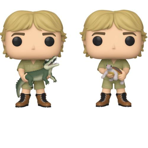 Crikey! Steve Irwin Honoured With Two Funko Pop Figurines