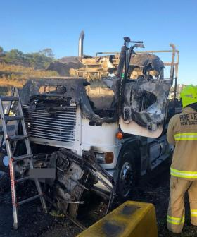 Truck Fire On Sydney's M5 Near Liverpool Causes Chaos
